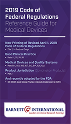 CFR Devices 2019