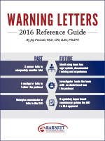 Warning Letters